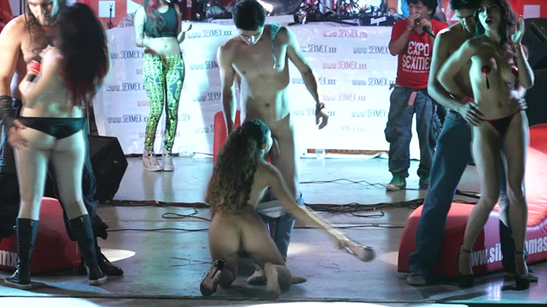 sexmex Orgy in the Expo